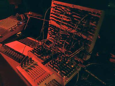 Serge Modular Synthesizer - Thomas Ankersmit