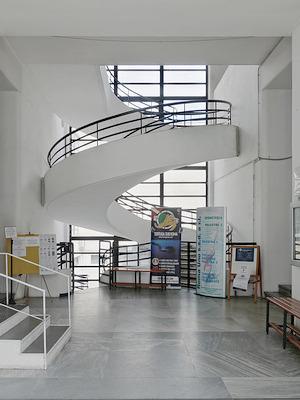 Luigi Moretti: Casa del Balilla a Trastevere, Roma 1933
