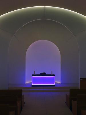 James Turell: Kapelle auf dem Dorotheenstädtischen Friedhof, 2015