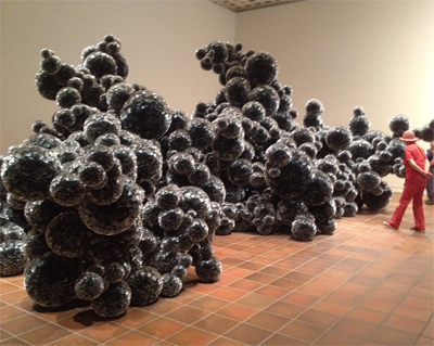 Tara Donovan - Museum Lousiana, 8. februar -  28. juli 2013