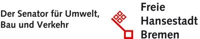 Logo: Senator für Umwelt, Bau & Verkehr, Freie Hansestadt Bremen
