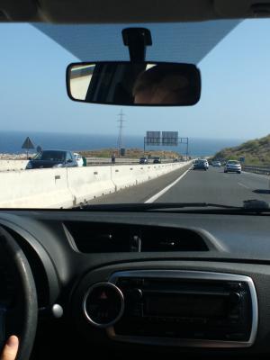Auf dem Heimweg von Pinolere
