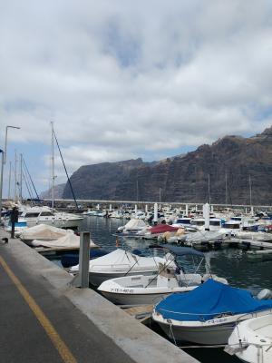Hafen von Los Gigantes