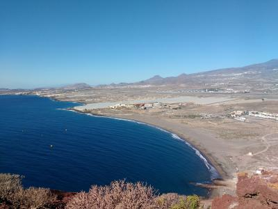 Blick vom Montaña Roja