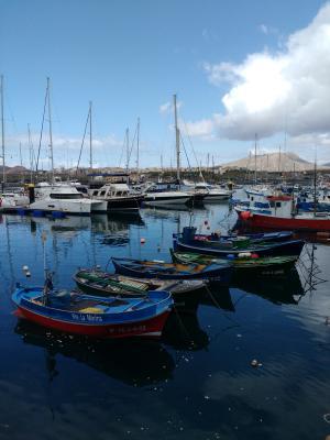 Hafen von Las Galletas