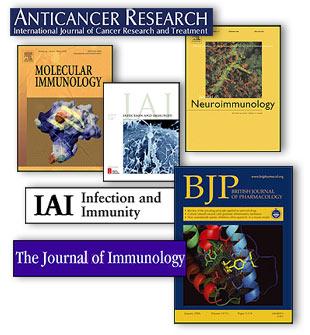 collage von medizinischen journals