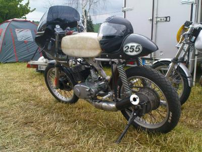 MZ TS250 Rennumbau Cafe Racer