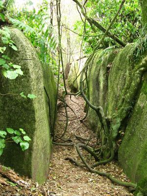 Im Rock-Labyrith in Takaka