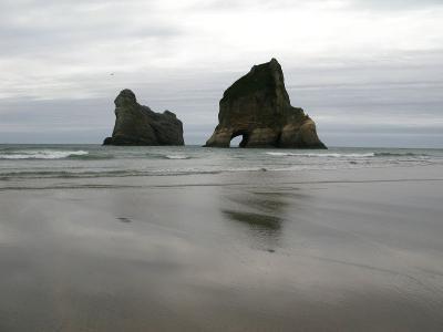 Felsen vorm Strand