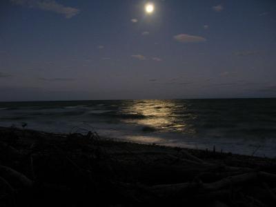 Nachthimmel am Tasman Campsite