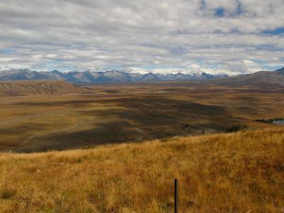 Ausblick vom Mt. John walkway