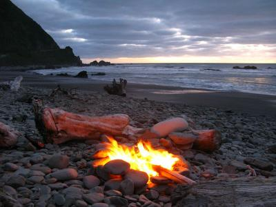 Ein würdiges letztes Strandfeuer ;)