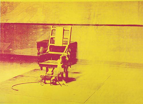 Electric Chair, Andy Warhol, 1962