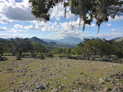 ...Blick auf den Cerro Potosí...