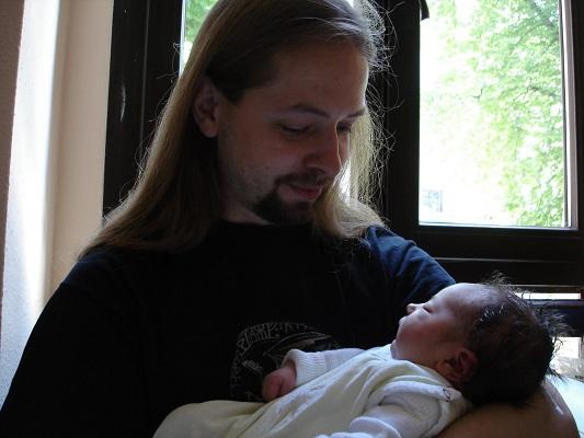 O. mit Papa