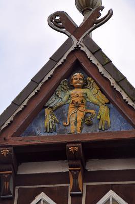 Giebelschmuck in der Celler Altstadt