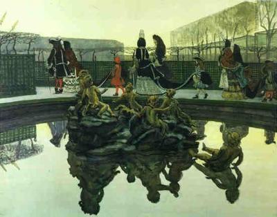 Benois, The Kings Walk 1906