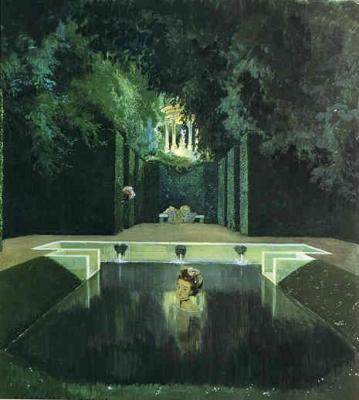 The Bath of the Markise 1906