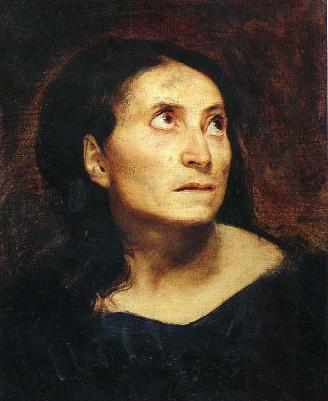 Delacroix, Die Irre 1822