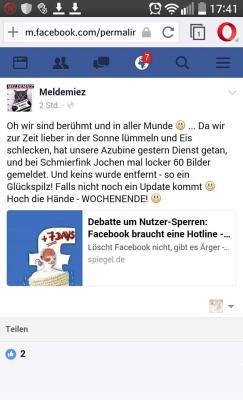 Der autorit&auml;re Charakter auf Facebook: nach oben buckeln, nach unten treten.<br />