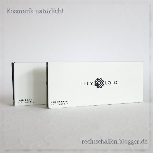 Beide Paletten in Verpackung | Lily Lolo Eye Palette Enchanted & Laid Bare