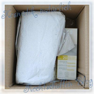 Naturdrogerie unboxing | Vollgröße Sonnenmilch