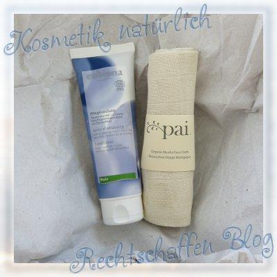 Naturdrogerie unboxing | Eubiona Traube Haarspülung und Pai Muslin Cloth