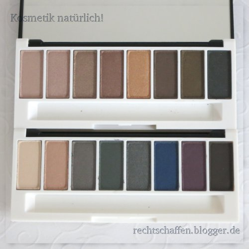 Beide Paletten bei Tageslicht im Raum | Lily Lolo Eye Palette Enchanted & Laid Bare