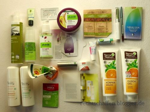 Aufgebrauchte Produkte August 2014