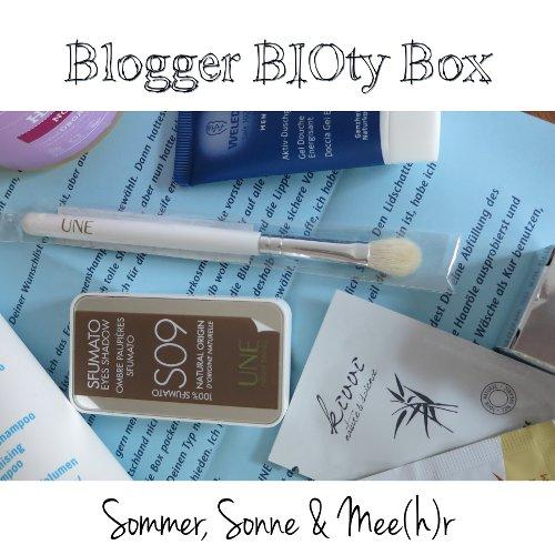 Blogger BIOty Box 1: Sommer, Sonne & Mee(h)r | Teaser