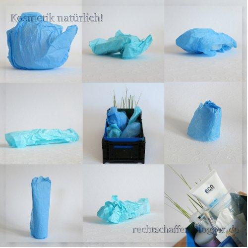 Blogger BIOty Box 1: Sommer, Sonne & Mee(h)r | Blaue Päckchen