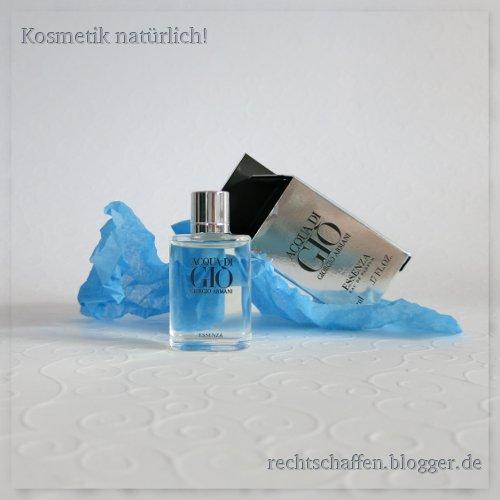 Blogger BIOty Box 1: Sommer, Sonne & Mee(h)r | Giorgio Armani Gio Parfum