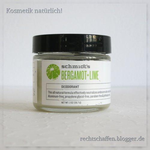 Unboxing Eccoverde | Schmidt's Deodorant Bergamotte und Zitrone
