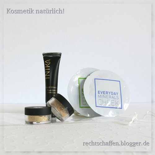 Unboxing Eccoverde | Mineral Make-up Pröbchen von Inika, Lily Lolo, Everyday Minerals