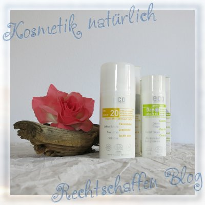 Naturdrogerie unboxing | eco cosmetics Sonnenmilch LSF 20 und eco cosmetics Gesichtscreme LSF 15