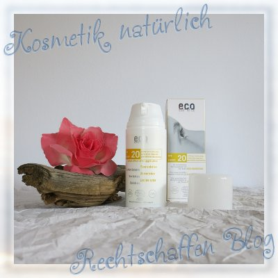 Naturdrogerie unboxing | eco cosmetics Sonnenlotion LSF 20