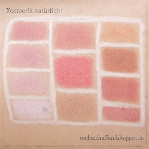 Mineral Rouge Swatches