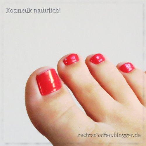 Sante No. 21 coral pink Nagellack | Großaufnahme