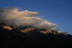 Alpengluehen...fast jedenfalls