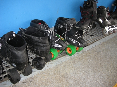 o o keep on rollin 39 rollschuhe roller skates. Black Bedroom Furniture Sets. Home Design Ideas