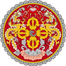 Wappen Bhutan