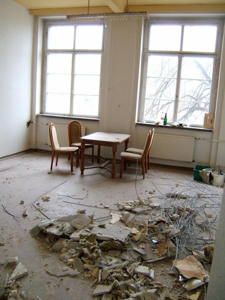 Klassenraum zukünftiges Studio