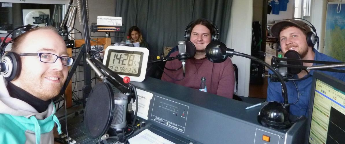 wayne graham im Radio T Studio