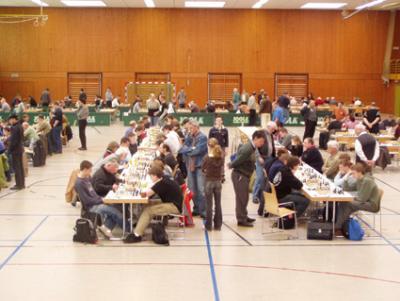 SEM 2006 - sehr gute Spielbedingungen in der Glückauf-Halle in Hostenbach/Wadgassen