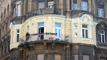 Budapest, house. (novala)