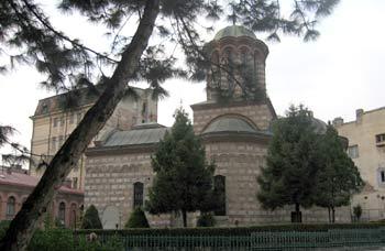 Biserica ortodoxa Sfantul Anton <br /> de la Piata Unirii. (novala)