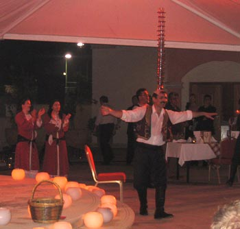 Cyprian dancer. (novala)