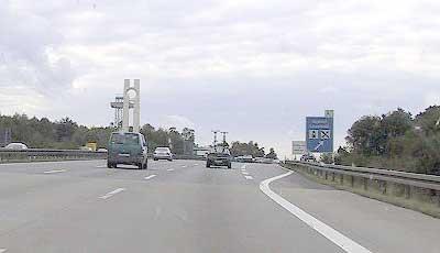 Former border-crossing Marienborn DDR-D