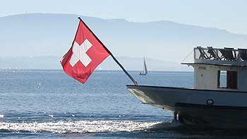 Swiss flag. (novala)