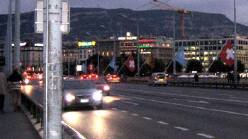 Geneva and flags. (novala)